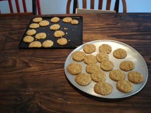 Anzac biscuits done!